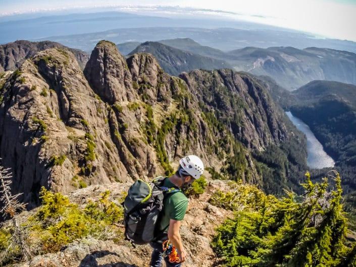 Mt Arrowsmith Nose Route Vancouver Island