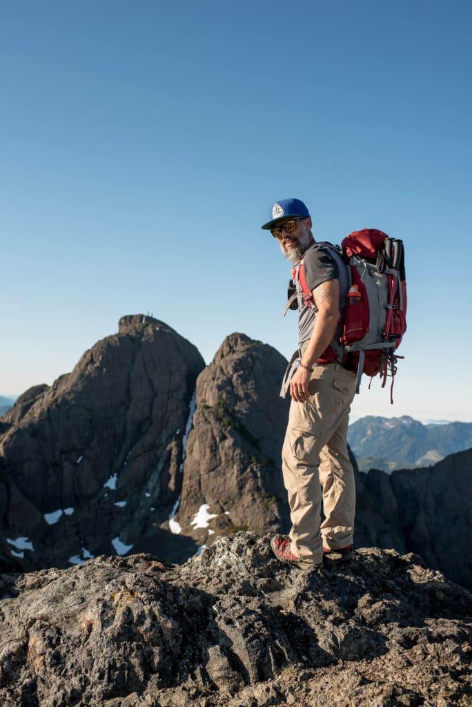 Chris Istace Mindful Explorer Vancouver Island Mt Arrowsmith