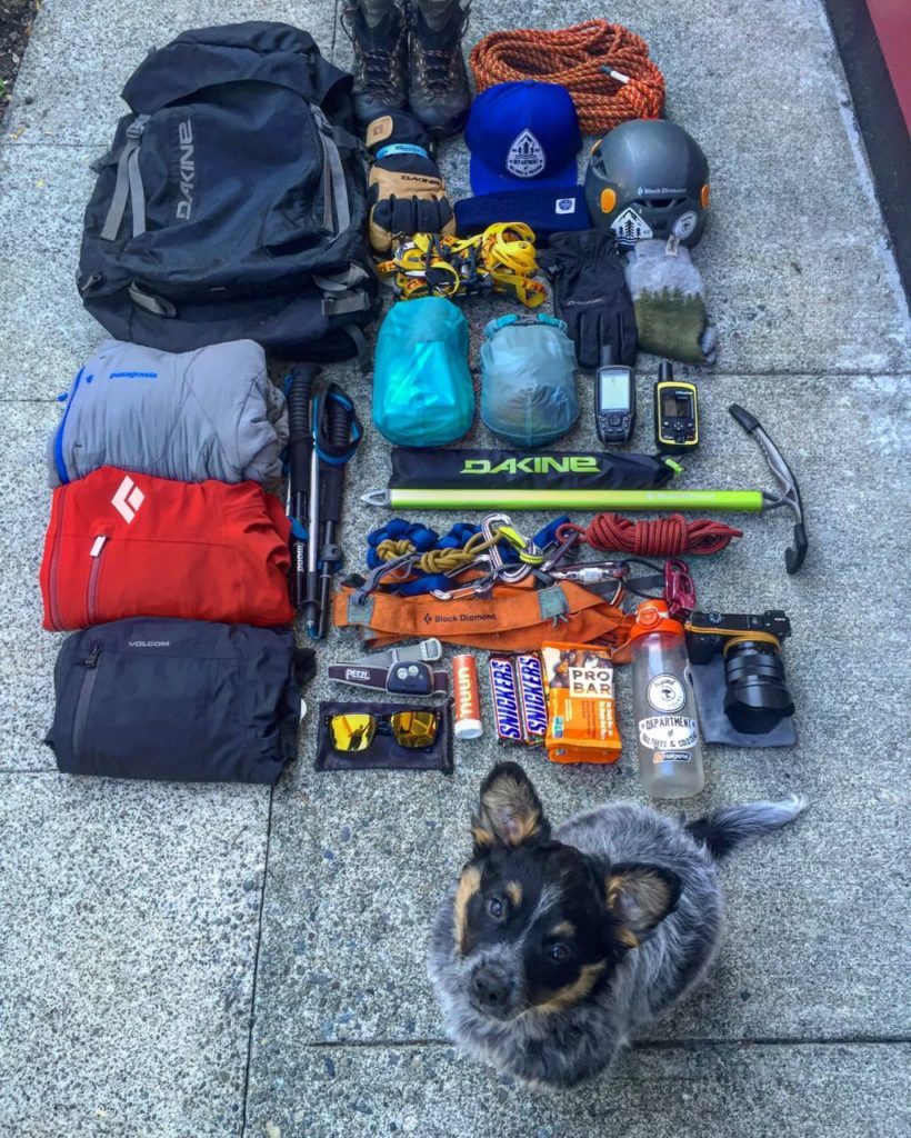 Gear List, Hiking, Climbing, Backpacking what to take, Pack List,