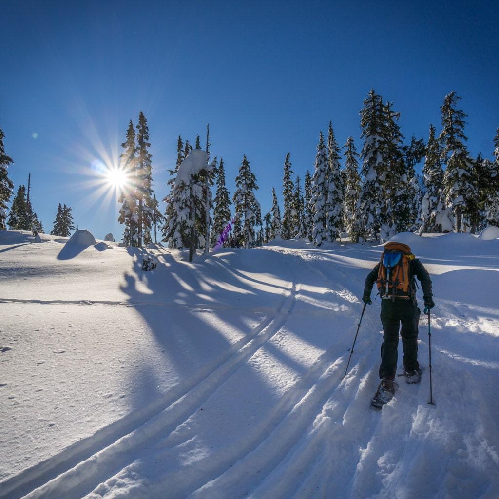 Mt Becher Snowshoeing