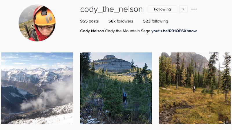 inspiring canadian outdoor instagrammers