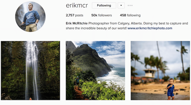 Erikmcr instagram outdoors canada