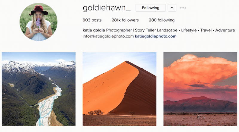 inspiring canadian outdoor instagrammer