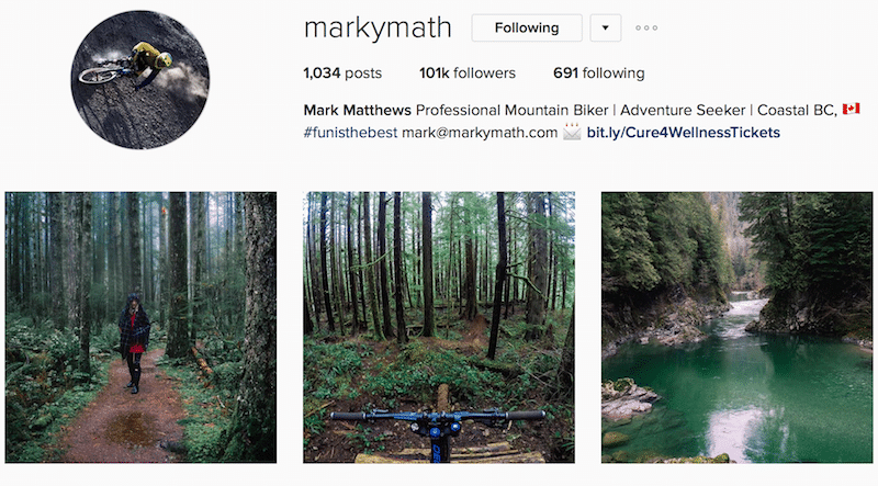 Canadian outdoor instagrammer