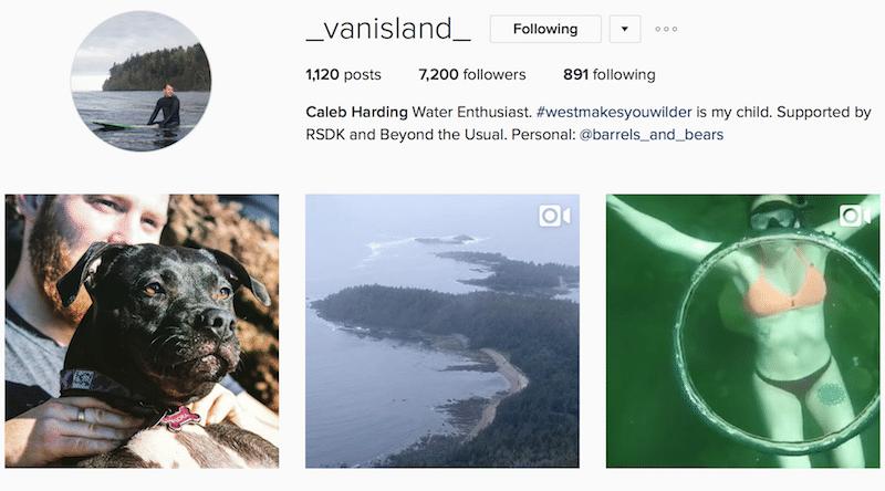_Vanisland_ inspiring canadian outdoor instagrammer
