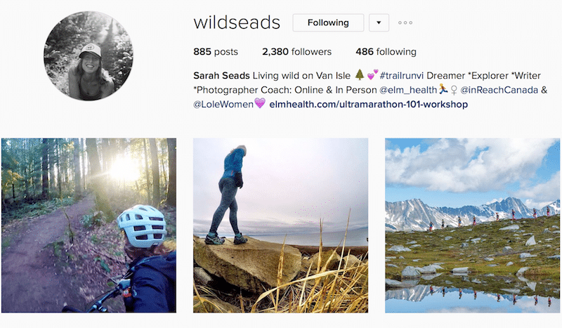 wildseads sarah leads canadian outdoor instagrammer
