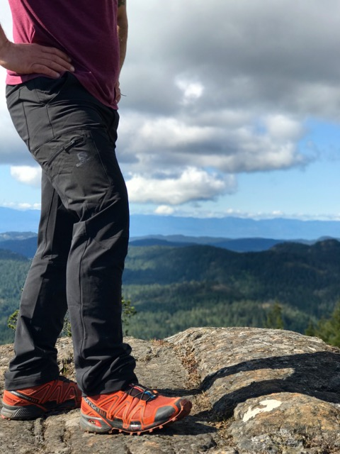 salomon, hiking, pants, wayfarer utility