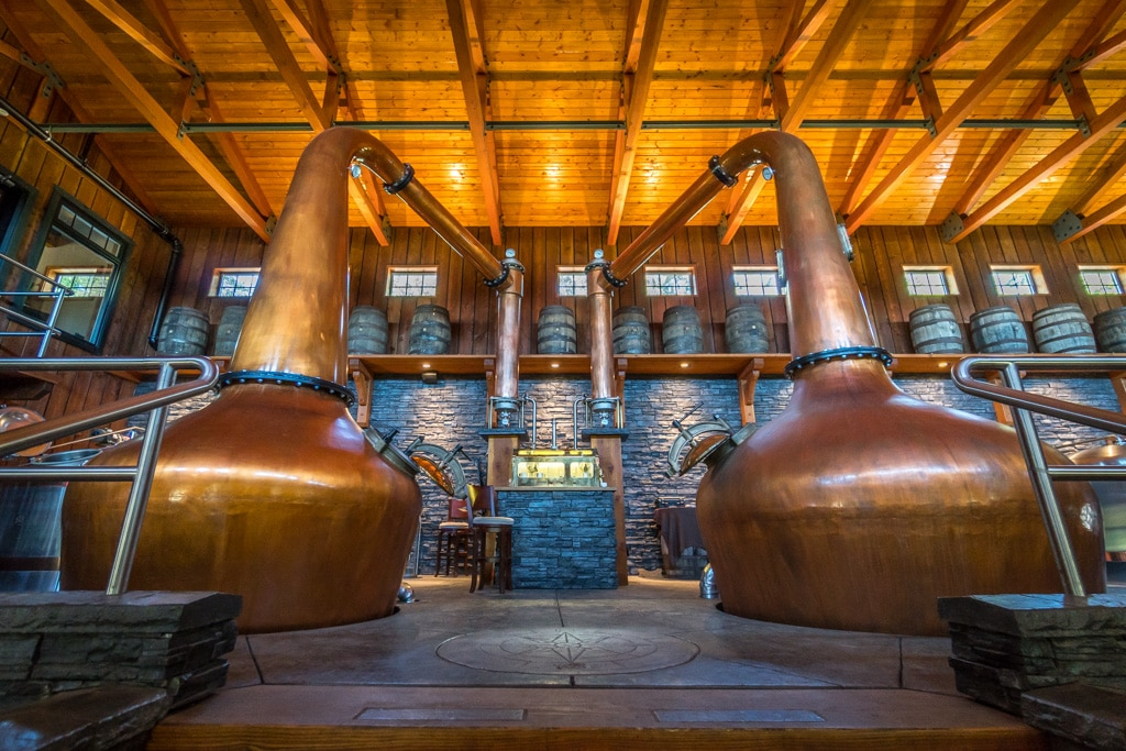 vancouver island, campbell river, shelter point distillery,