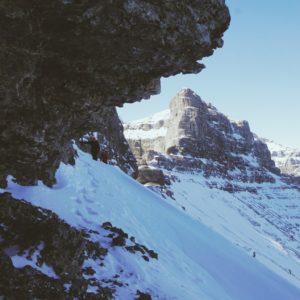 Scrambling Phantom Crag