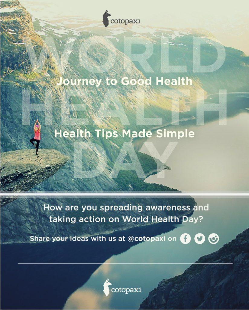 Three Pillars to Good Health