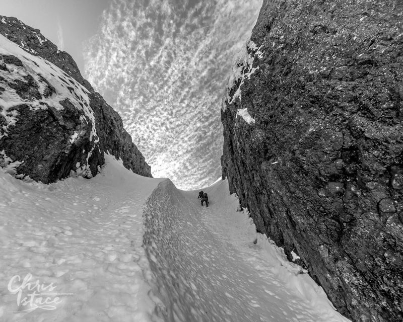 Mt Arrowsmith Snow Gully Vancouver Island Photography