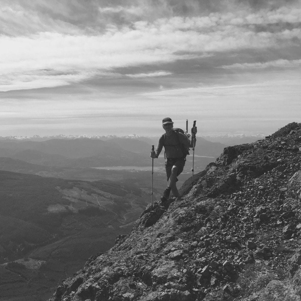 Vancouver Island Mount Arrowsmith Unjudges Route Chris Istace