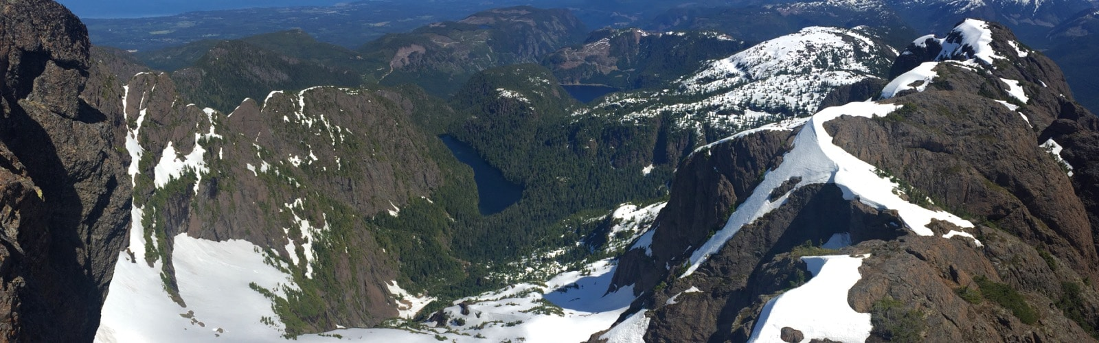 Day Hike Scramble of Mount Arrowsmith UnJudges Route