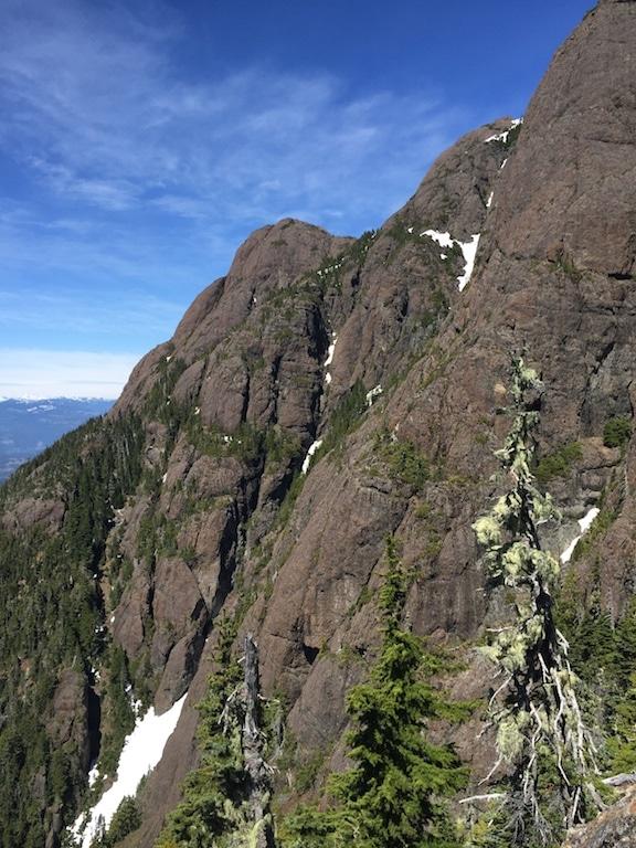 Mount Arrowsmith UnJudges route Vancouver Island