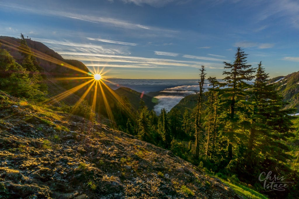 Sunrise Mt Cokely Mount Arrowsmith Contact Chris Istace