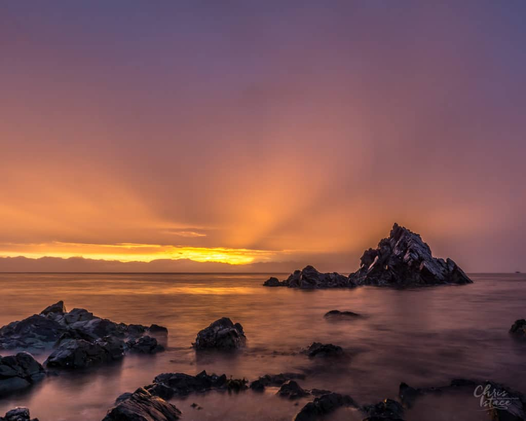 Pipers Lagoon Sunrise Vancouver Island Photography