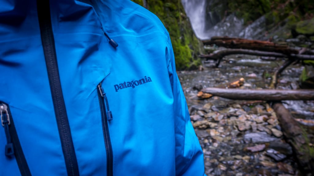 Patagonia Triolet coat goldstream