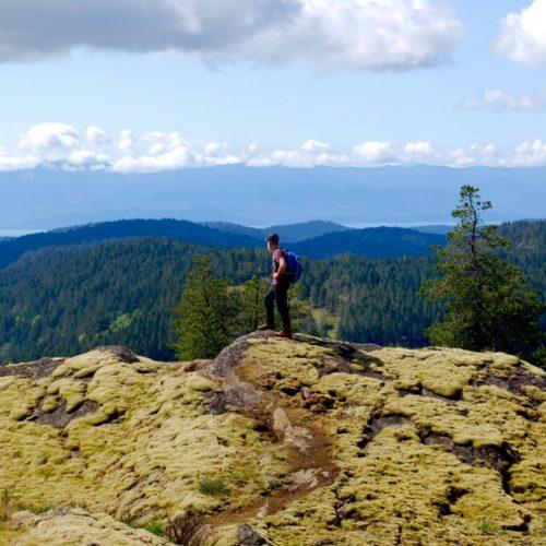 Chris Istace - Chris Istace_Vancouver Island_Sooke Hills_Salomon Wayfarer Pant