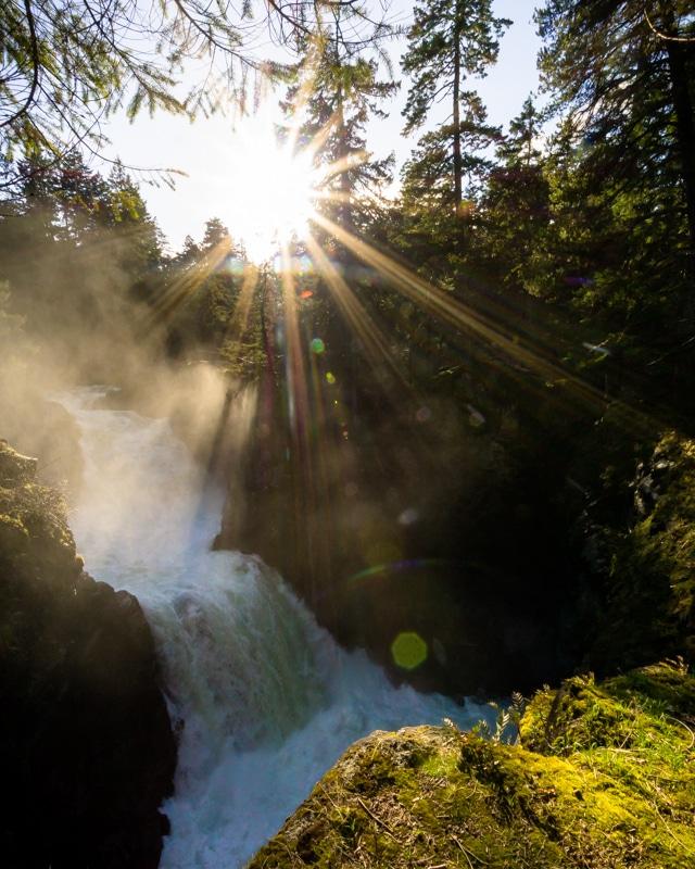 Little Qualicum Falls, Vancouver Island,Tofino Road Trip