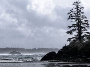 Incinerator Rock, Long Beach, Schooner Cove, Vancouver Island, Tofino Road Trip