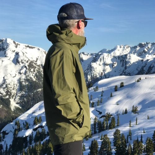 Chris Istace - Chris Istace_Vancouver Island_Flower Ridge_Black Diamond Liquid Point GTX shell