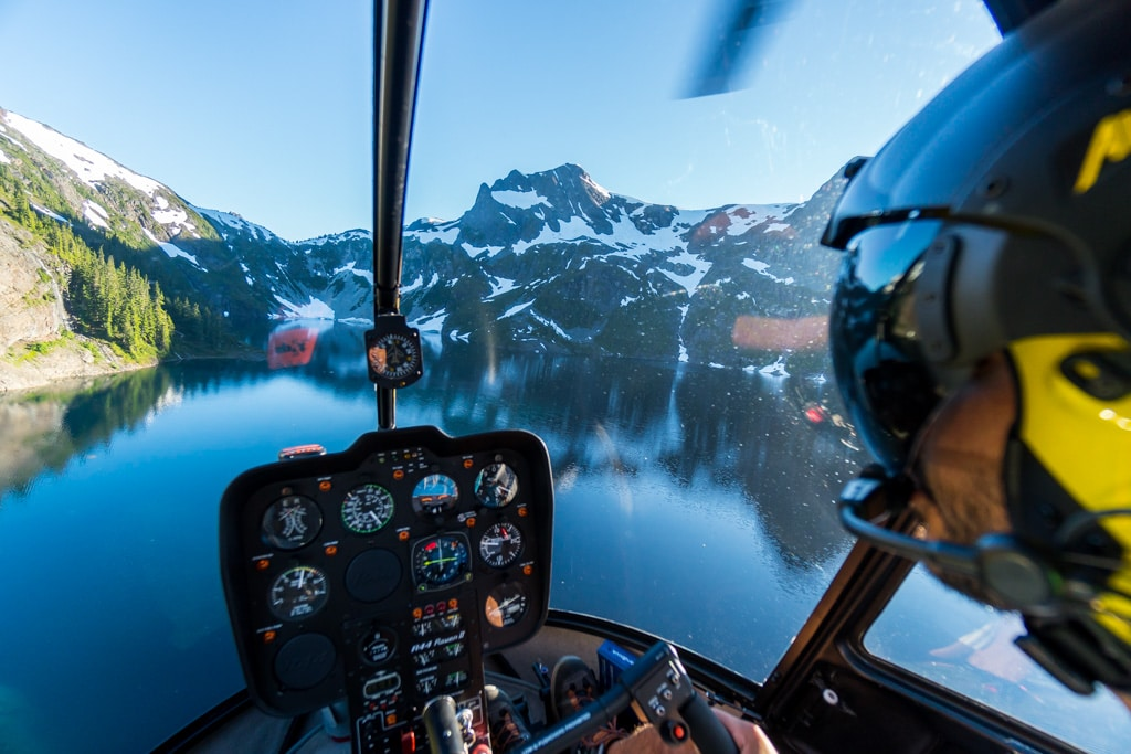 strathcona park, vancouver island, campbell river, 49 north helicopters
