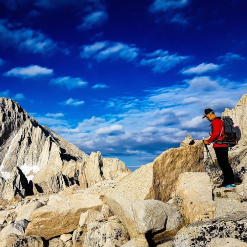 Salomon S/Lab XA Alpine Chris Istace Mount Whitney