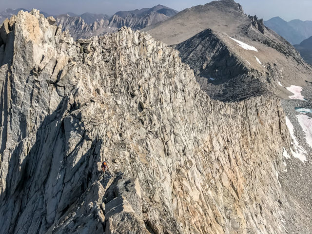 California Eastern Sierra Mt Conness North Ridge Chris Istace