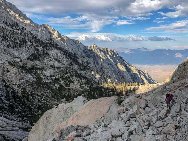 California Eastern Sierra Whitney Portal North Fork Chris Istace