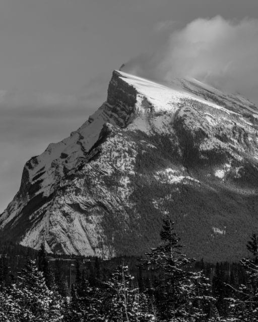 2017 Photo Essay Banff National Park Mount Rundle Chris Istace
