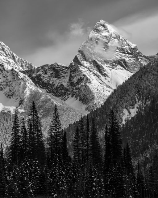 2017 Photo Essay Glacier National Park Mount Sir Donald Chris Istace