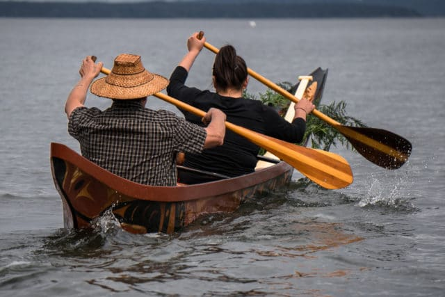 Vancouver Island 2017 Photo Essay Chris Istace John Marston Salish Canoe