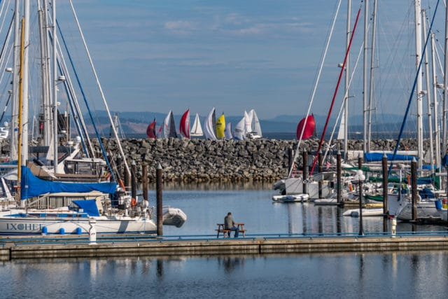 Vancouver Island Port Sidney Marina Chris Istace