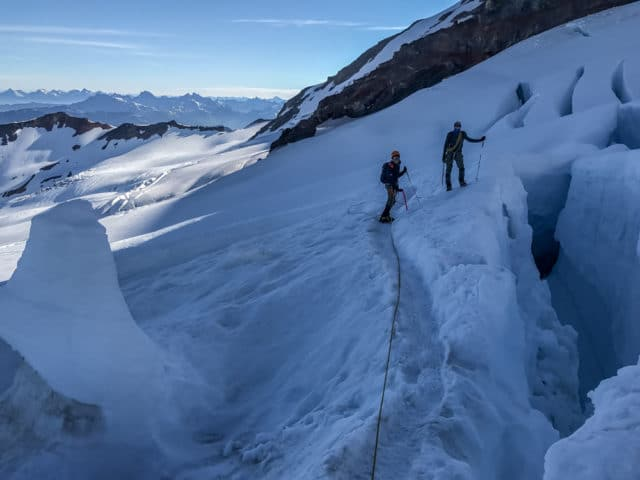 Washington Mount Baker Coleman Deming Route Chris Istace
