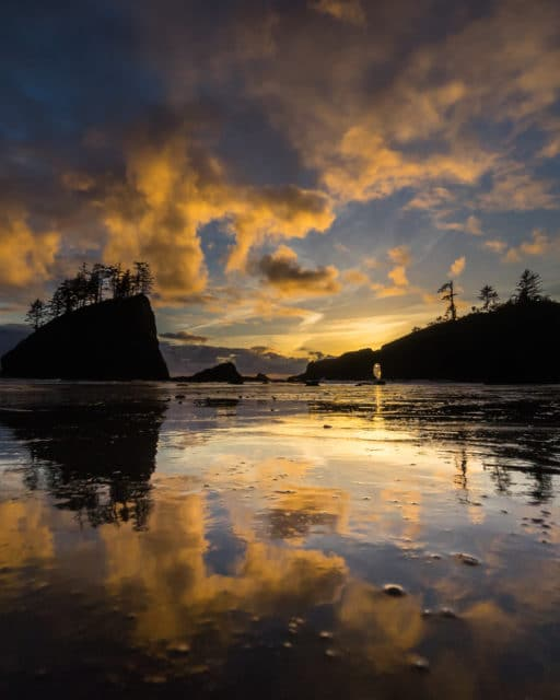 Olympic Peninsula Chris Istace Second Beach Sunset