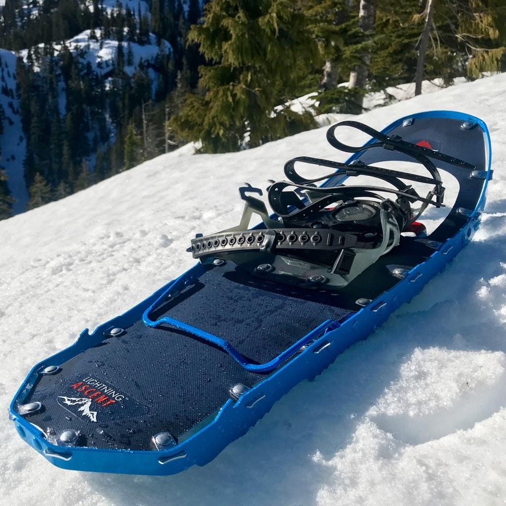 Gear Review : MSR Lightning Ascent Snowshoes