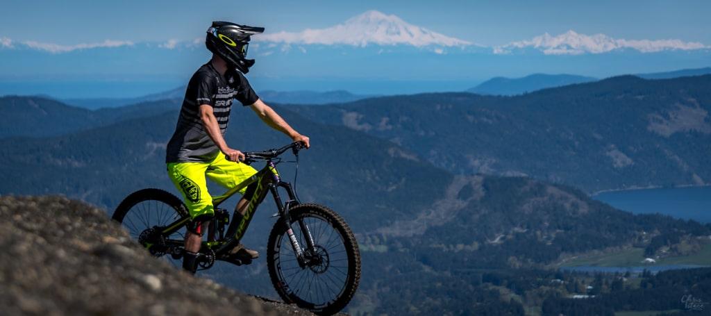 Cowichan Valley Mountain Biking Trevor Thew Chris Istace