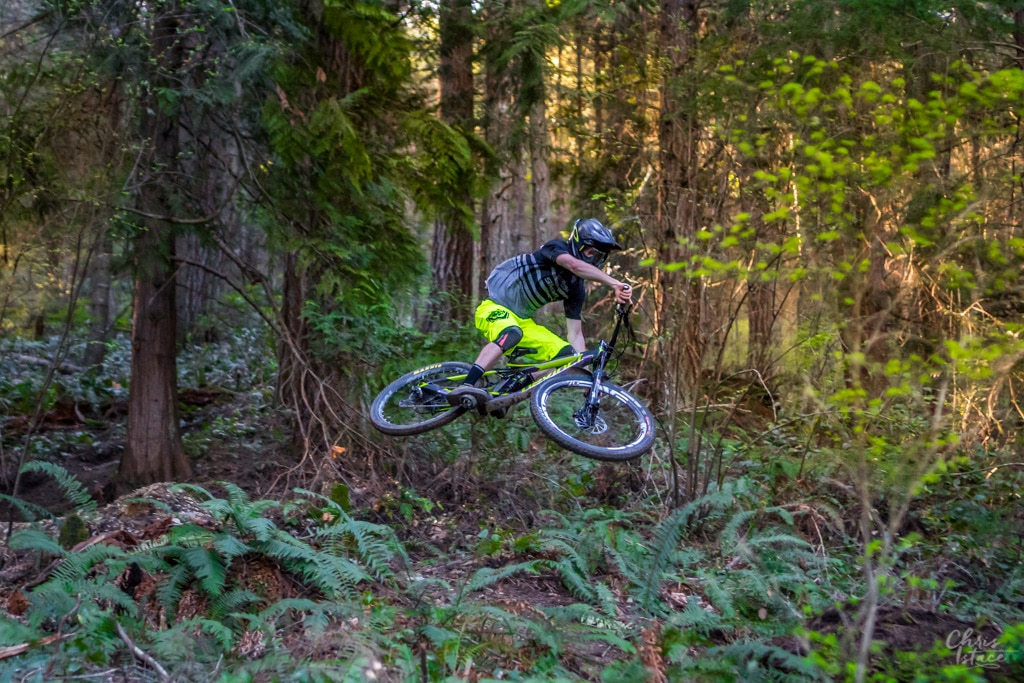 Cowichan Valley Mountain Biking Trevor Thew Chris Istace