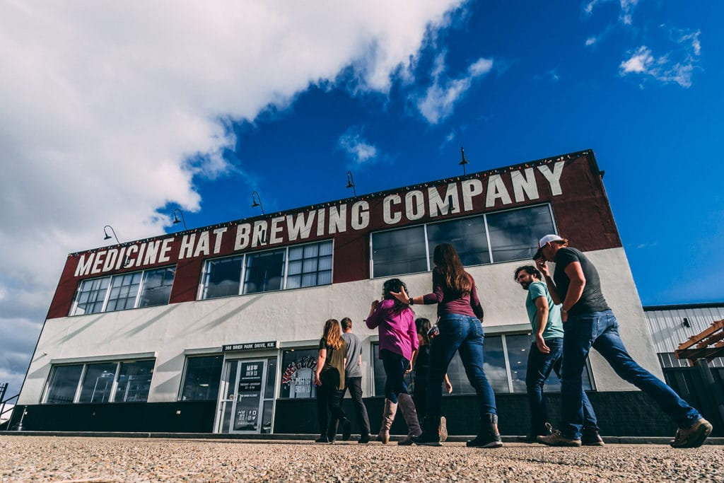 Medicine Hat Craft Beer Tour Chris Istace Mindful Explorer