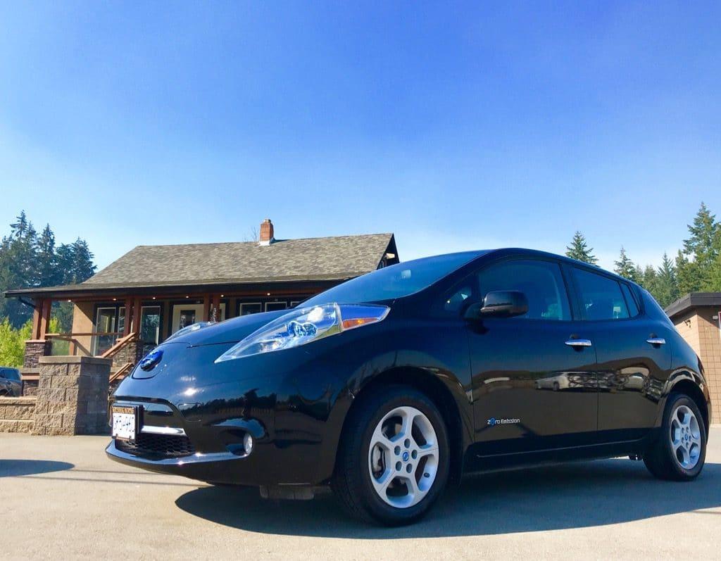 2013 Nissan Leaf electric car Chris Istace Mindful Explorer
