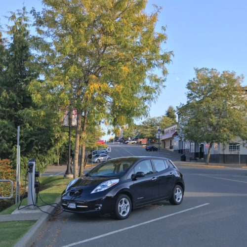 2013 Nissan Leaf electric car Chris Istace Mindful Explorer