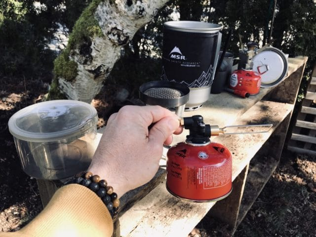 MSR Windburner duo stove system gear review chris istace