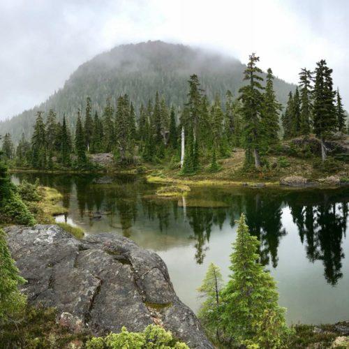 Brigade Lake Trail Gibson Klitsa Plateau Vancouver Island hiking