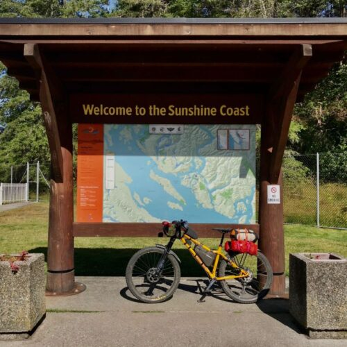 Bikepacking Vancouver Island Sunshine Coast