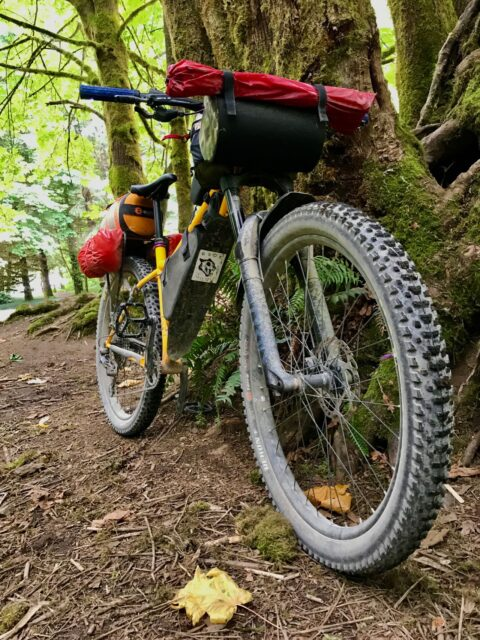 Bikepacking Vancouver Island Sunshine Coast with a Chromag Rootdown