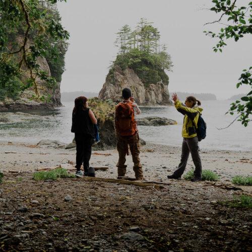 Kiixin Village Tour Bamfield Vancouver Island