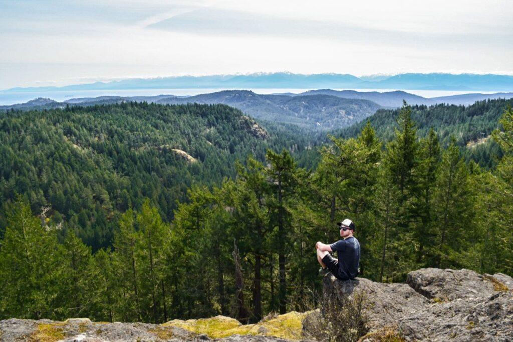 Sooke Hills wilderness hiking