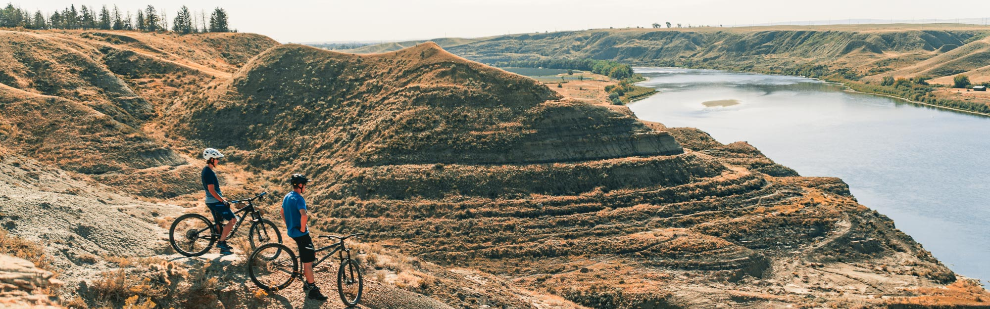 My Perfect Day in Medicine Hat Mountain Biking