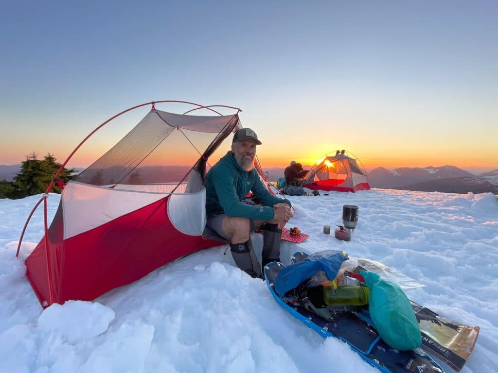 Lightweight Backpacking Gear List 2021 MSR Hubba NX tent